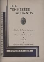 Tennessee Alumnus. Volume 18, Issue 3, 1938 October