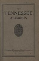 Tennessee Alumnus. Volume 1, Issue 1, 1917 January