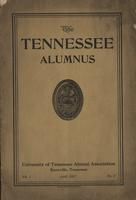Tennessee Alumnus. Volume 1, Issue 2, 1917 April