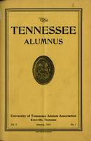 Tennessee Alumnus. Volume 2, Issue 1, 1918 January