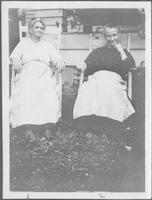 Mrs. Profitt, house keeper for boys dormitory, Aunt Lizzie (Mrs. Reagan), house keeper for teachers