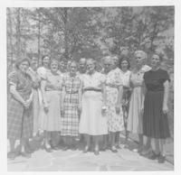 25 Year Arrowcraft Weavers Reunion,  April 1957