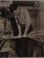 Broommaking with Elmer Kear.