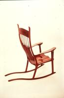 R. Sheremeta Walnut Rocker