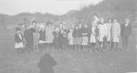 A group of early Settlement School students.