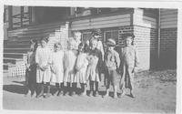 Young students, Six-Room Schoolhouse