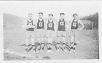 1922 Boys' athletic team
