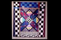 "Southern Quilts: A New View - ""Threshold III"" by Patsy Allen"