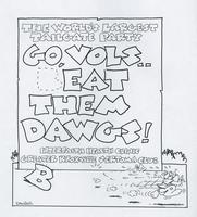 Go, Vols - eat them Dawgs!
