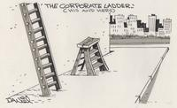 Corporate ladder - his and hers