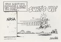 Surf's up on Mars