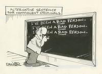 Alternative Sentence for Nonviolent Criminals