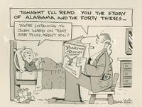 Tonight I'll read you the story of Alabama and the Forty Thieves.