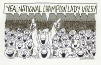 Yea, National Champion Lady Vols!