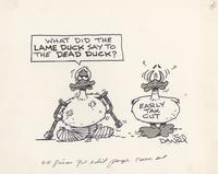 What did the lame duck say to the dead duck?