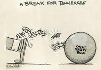 Tennessee breaks one-party rule