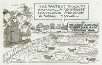 fastest duck?  A Tennessee legislator avoiding a real issue.