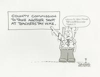 County Commission to take another shot at teachers' pay hike