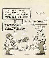 Trombones! You know - Long Horns!
