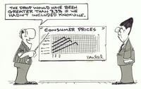 drop in consumer prices would have been greater without Knoxville.