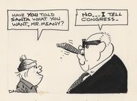 George Meany tells Congress what he wants