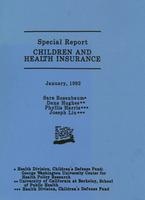 Special Report: Children and Health Insurance