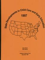 State Developments in Child Care and Early Education