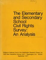 Elementary and Secondary School Civil Rights Survey: An Analysis