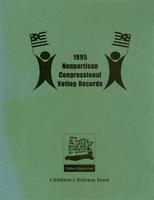 1995 Nonpartisan Congressional Voting Records