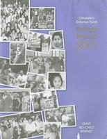 Children's Defense Fund Annual Report 2001
