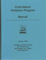Child Watch Visitation Program Manual 1996