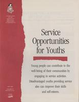 Service Opportunities for Youths