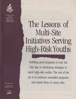 Lessons of the Multi-Site Initiatives Serving High-Risk Youths