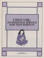 Child Care: An Essential Service for Teen Parents