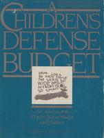 Children's Defense Budget: An Analysis of the FY 1987 Federal Budget and Children