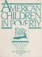 American Children in Poverty, 1994
