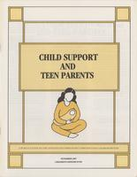 Child Support And Teen Parents