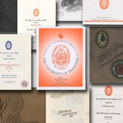 University of Tennessee Commencement Programs