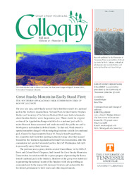 Great Smoky Mountains Colloquy:              Volume 17, Number 2