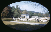 Becky Cable House in Cades Cove