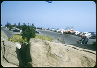 Clingmans Dome Parking Lot in Summer
