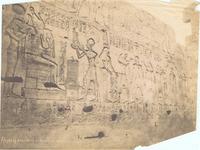 (Abydos) Bas. reliefs de Ramsès II et liste de nomes.