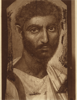 Fayum Mummy Portrait, Male