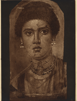Fayum Mummy Portrait, Female