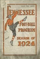 1924 Football Program - UT vs Carson-Newman (non-IA)