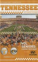 2014 Football Program - UT vs Missouri