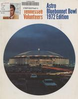 1972 Football Bowl Guide - UT vs LSU  (Bluebonnet Bowl)