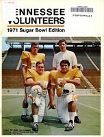 1970 Football Bowl Guide - UT vs Air Force (Sugar Bowl)