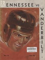 1937 Football Program - UT vs Vanderbilt