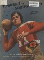 1935 Football Program - UT vs Southwestern University (Rhodes)
